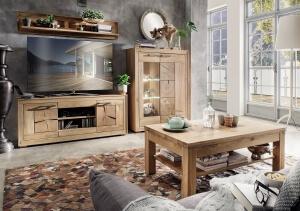 Wohnzimmerprogramm-Massivholz-Hirnholzapplikationen