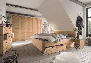 schlafzimmerprogramm-kiefer-schublade-unter-bett
